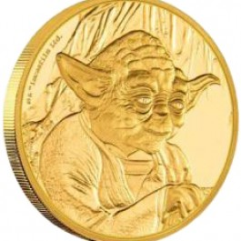 Niue 2016 Star Wars Classic - Yoda Proof Gold Coin 1/4 oz