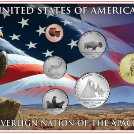 America 2016 Apache Circulation Coin Set