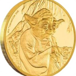 Niue 2016 Star Wars Classic - Yoda Proof Gold Coin 1 oz