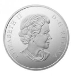 加拿大 2016 廣闊的大草原 精鑄銀幣62.69克
