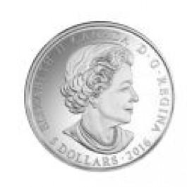 加拿大2016誕生石系列- 六月精鑄銀幣1/4盎司