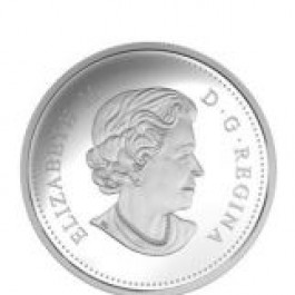 加拿大 2016 蝴蝶景觀錯覺 精鑄銀幣31.39克