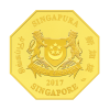 新加坡2017 中國農歷雞年精鑄金幣 1盎司_43075