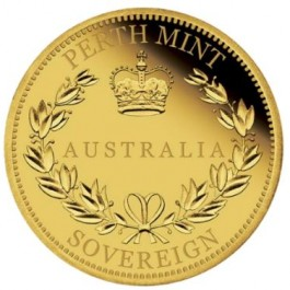 Australia 2017 Sovereign Proof Gold Coin 7.99 g
