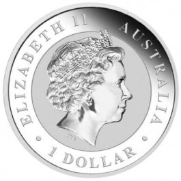 Australia 2017 Happy Birthday Silver Coin in Card 1 oz