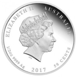 Australia 2017 Newborn Baby Proof Silver Coin 1/2 oz