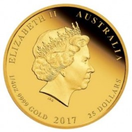 Australia 2017 The ANZAC Spirit 100th Anniversary - Beersheba Proof Gold Coin 1/4 oz
