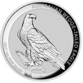 Australia 2017 Wedge-Tailed Eagle HR Silver Coin 1 oz