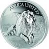 五國 - 象牙海岸,貝寧,剛果,馬里,尼日爾2017 非洲聯合 精鑄銀幣3盎司_44117