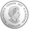 加拿大2017 星座系列-白羊座 水晶精鑄銀幣7.96克_43988