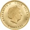 庫克群島2017 本篤十六世90歲生日 仿精鑄金幣1/100盎司_44235