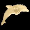 帛琉2017 海豚 金幣0.5克_44230