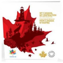 Canada 2017 My Canada, My Inspiration Cu-Ni Coin Set