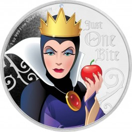 Niue 2018 Disney Villains - Evil Queen Coloured Proof silver 1 oz