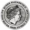 圖瓦盧2018 麒麟傳說 仿古銀幣2盎司_44749