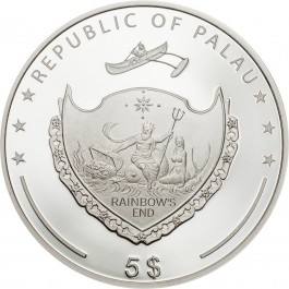 Palau 2019 Ounce of Luck Silver Coin 1 oz