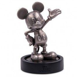 New Zealand 2018 Mickey Mouse 90th Anniversary Antiqued Silver Miniature 150 g