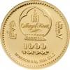 蒙古2019 生肖 - 歡樂豬精鑄金幣0.5克_45035