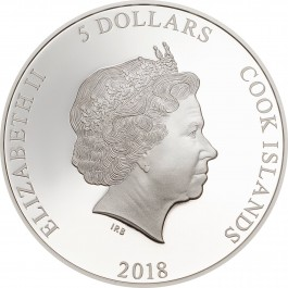 Cook Island 2018 Magnificent Life - Tree Frog Proof Silver Coin 1 oz