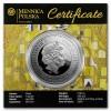 紐埃2018 世界名畫 - 艾蒂兒肖像一號 彩色琥珀精鑄銀幣17.5克_44779