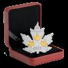 加拿大2017 楓葉系列 - 鍍金楓葉 精鑄銀幣31.39克_44647