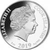庫克群島2019 珍珠母系列 - 豬年彩色精鑄銀幣5盎司_44924