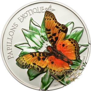 Cameroon 2011 Exotic Butterflies - Charaxes Fournierae Proof Silver 25 g_45280
