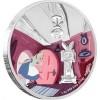 紐埃2018 迪士尼 - 愛麗絲夢遊仙境彩色精鑄銀幣4枚套裝_45255