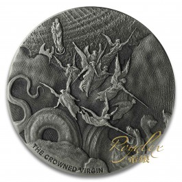 Niue 2019 Biblical Series – The Crowned Virgin Silver Coin 2 oz