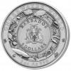 巴巴多斯2020海底世界系列- 藍鯨彩色超高浮雕銀幣3盎司_45810