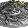 紐埃2020 傳奇的國度 亞特蘭提斯高浮雕仿古銀幣2盎司_45736