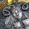 紐埃2020太陽神的臉孔 - 阿蒙-拉 仿古銀幣3盎司_45712