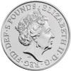 英國 2020 女皇的野獸 – 漢諾威的白馬 銅鎳幣28.28克_45698