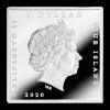 紐埃2020星夜彩色鍍金精鑄銀幣31.1克_45771