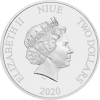 紐埃2020鼠年 - 福壽安康彩色精鑄銀幣1盎司_45959