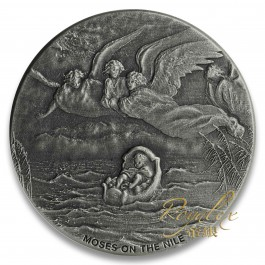 Niue 2019 Biblical Series –Moses on the Nile Silver coin 2 oz