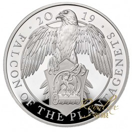 Great Britain 2019 Queen's Beast - The Falcon of the Plantagenets Cu-Ni Coin 28.28 g
