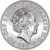 英國 2019 女皇的野獸 - 金雀花的獵鷹 銅鎳幣28.28克_45895