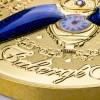 紐埃2021甲蟲時鐘鍍金精鑄銀幣1盎司_46224
