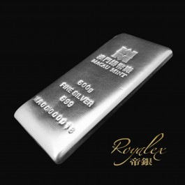 澳門鑄幣廠銀條500克