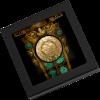 帛琉2021印加太陽神超高浮雕鍍金緞光銀幣1盎司_46488