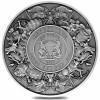 乍得2021美人魚與獨角獸仿古銀幣2盎司_46436