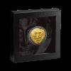 喀麥隆2021阿伽門農的面具 高浮雕仿古鍍金銀幣3盎司_46696