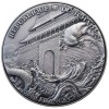 乍得共和國2021封神演義系列-哪吒高浮雕仿古銀幣20克_46790