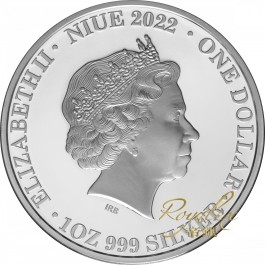 Niue 2022 Earth - Blue Marble Proof Silver Coin 1 oz
